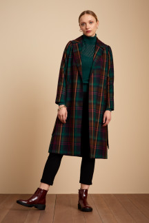 Robin Coat Larousse Check
