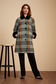 Bonnie Coat Lemaire Check