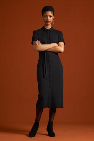 Rosie Slim Fit Dress Milano Uni
