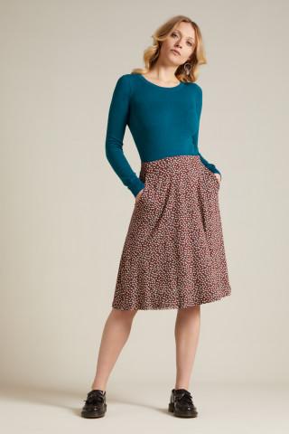 Sofia Midi Skirt Sevres