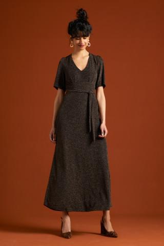 Shiloh Dress Disco Lurex