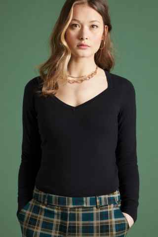 Diamond Knit Top Organic Cottonclub