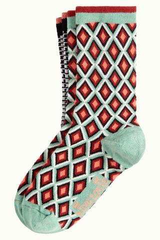 Socks 2-Pack Chrystal