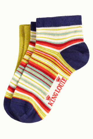 Socks Short 2-Pack Chino