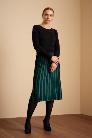 Pintuck Skirt Azul