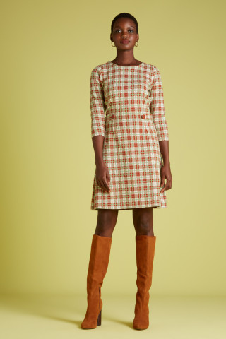 Mod Dress Mini Feliz Check