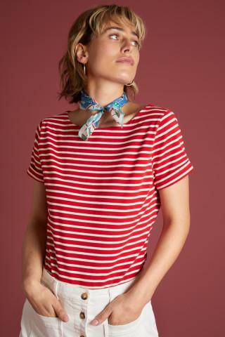 Paulette Top Breton Stripe