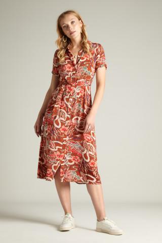 Rosie Dress Midi Lei