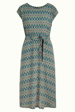 Betty Dress Loose Fit Chess