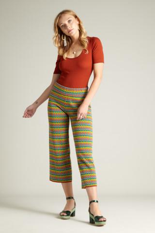 Border Pants Ladyland