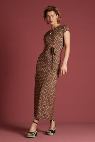 Sally Maxi Dress Morada