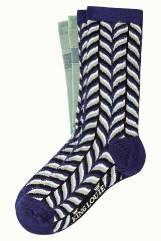 Socks 2-Pack Mistletoe