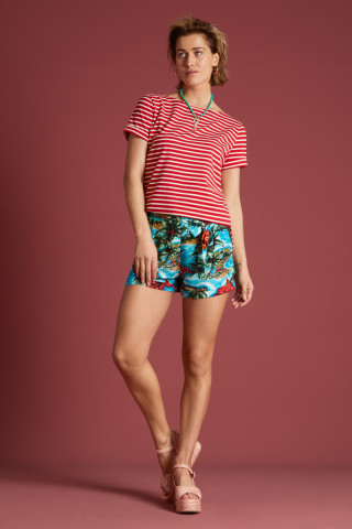 Roisin Shorts Great White