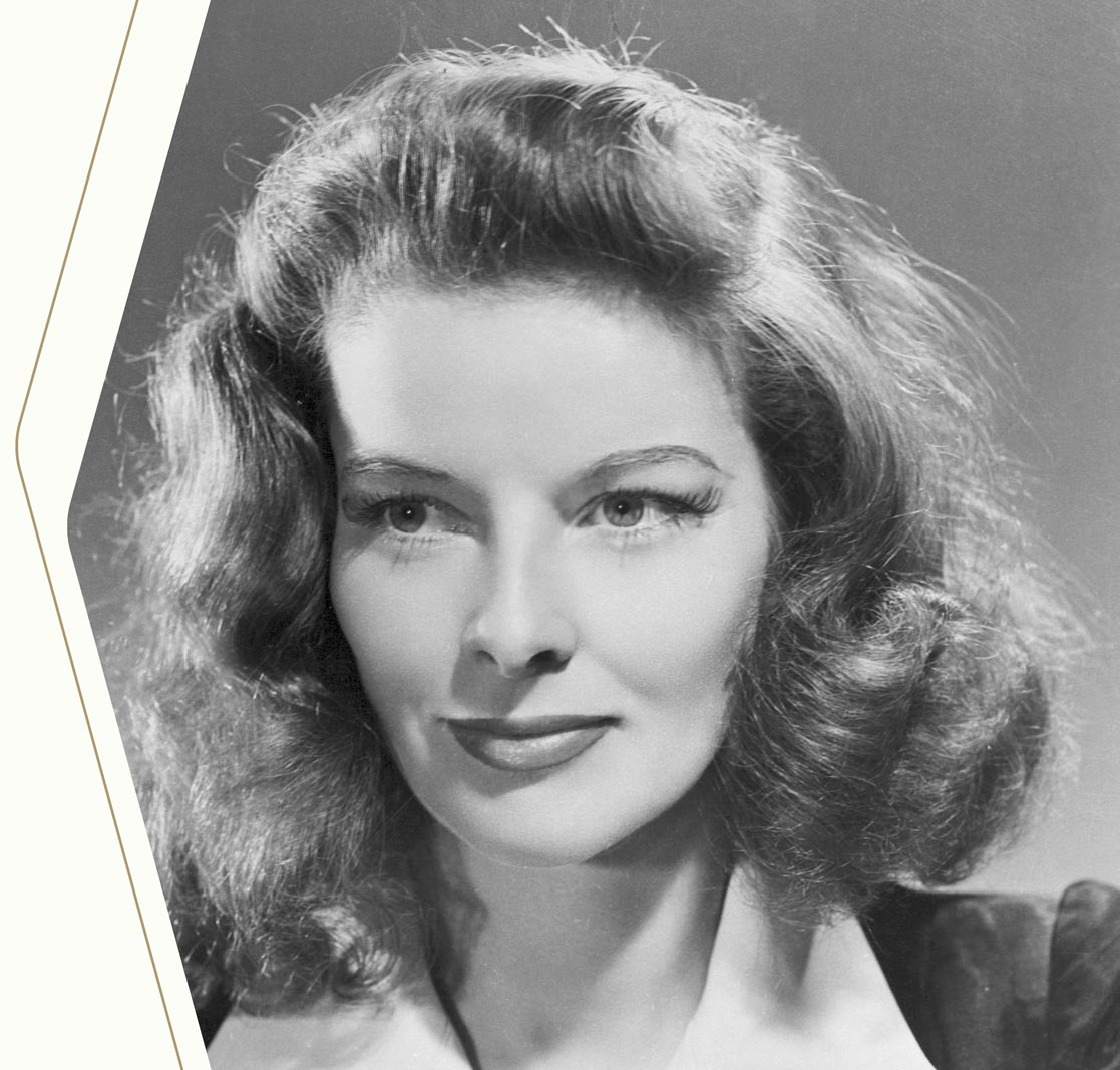 King Louie's icon: Katharine Hepburn