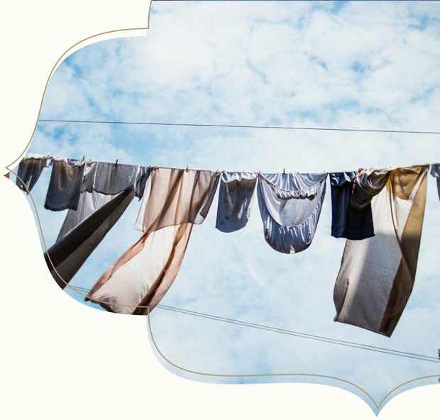 Hoe zorg je goed voor je kleding?